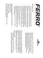 Certificat de garantie - Vana termostatata de amestec din grupul GM40