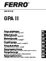 Manual de instalare si operare, certificat de garantie pentru Pompa de circulatie GPA II