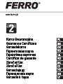 Certificat de garantie (2 ani), manual de instalare pentru Baterii