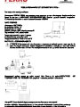 Instructiuni - FTE01 Cap termoelectric M30x1,5 230V