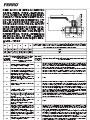 Conditiile de garantie, instructiuni de montaj si de exploatare - Robinete cu bila pentru instalatiile de gaze naturale cu maner drept - de tip G18